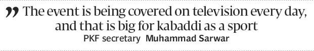 Kabaddi Cup in full swing at Wah - The Express Tribune