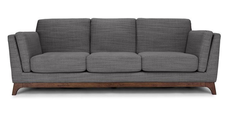 Ceni Pyrite Gray Sofa - Sofas - Article | Modern, Mid-Century and Scandinavian Furniture