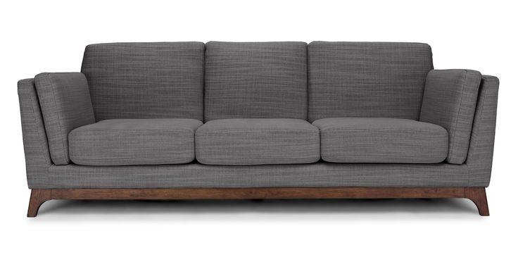 Ceni Pyrite Gray Sofa - Sofas - Article | Modern, Mid-Century and Scandinavian Furniture