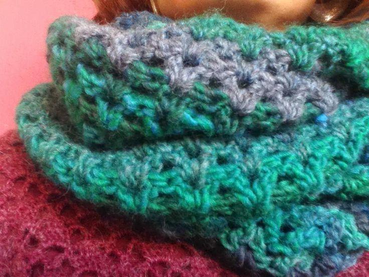 BUFF DE GANXET - Crochet Scarf
