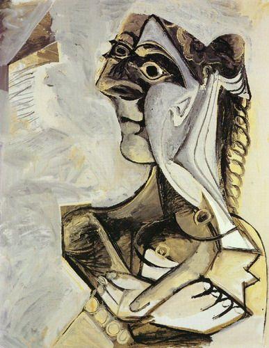 Pablo Picasso - Femme assise (Jacqueline), 1971