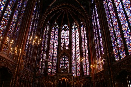 París (interior Notre-Dame) http://maleta-en-mano.blogspot.com.es/2015/04/paris-de-notre-dame-al-arco-del-triunfo.html