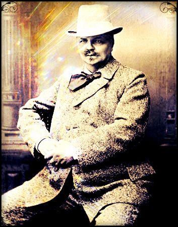 August Strindberg. Swedish author 12