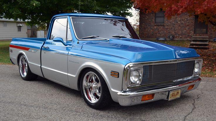 1971 Chevrolet Cheyenne Pickup presented as Lot S92 at Austin, TX