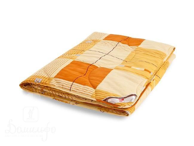 Одеяло детское из овечьей шерсти стеганое ПОЛЛИ 110х140Л от производителя Легкие Сны (Россия)