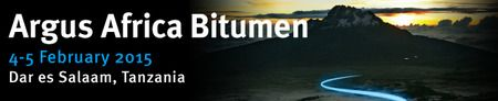 Argus Africa Bitumen 2015, Tanzania at Dar es Salaam, Tanzania on 04-05 February, 2015 at 9 am - 6 pm. The conference attracts senior government officials, and suppliers, distributors, traders and consumers of bitumen across the continent and further afield. Booking: http://atnd.it/17378-1. Category: Conferences. Price: 2 Days: GBP 995, 2 Days: EUR 1,195, 2 Days: USD 1,595.