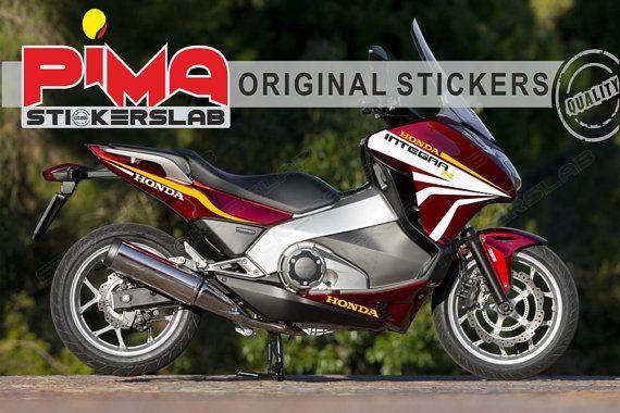 Adesivi Stickers moto motorcycle Honda INTEGRA di PIMAstickerslab