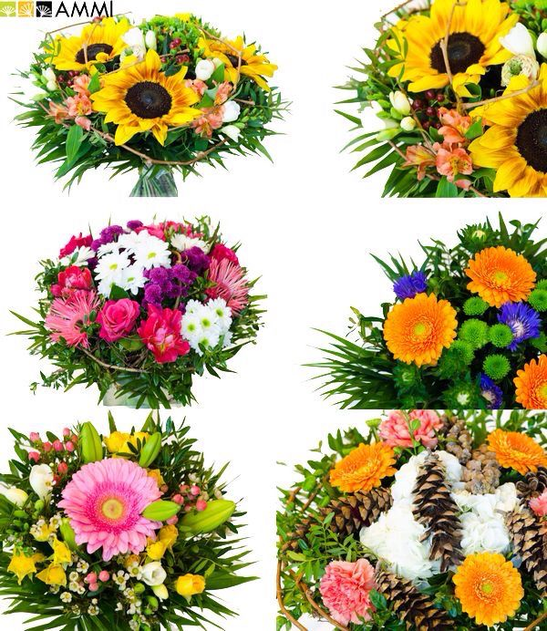 Amazing bunch of flowers for mothers day by Studio AMMI.