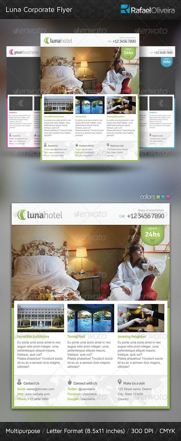 31 best carpet cleaning marketing images on pinterest carpets luna corporate flyer photoshop psd banner showcase available here https baanklon Gallery
