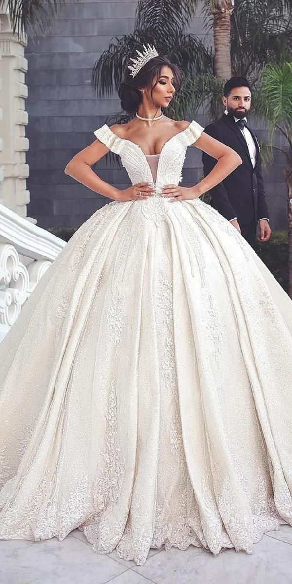 30 Ball Gown Wedding Dresses Fit For A Queen Wedding Forward Ball Gowns Wedding Ball Gown Wedding Dress Queen Wedding Dress
