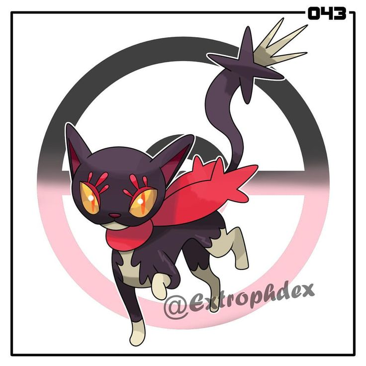 "Vendread, the Cursed Cat Pokemon [Dark/Fairy] Bonnecat --Dusk Stone--> Vendread ⚜️ Height: 3'3"" (0.99m) Weight: 15.2 lbs (6.9kg) ⚜️ Super Luck // Contrary (HA) HP - 70 ATK - 60 DEF - 50 SPATK - 90 SPDEF - 55 SPE - 135 ⚜️ ""It is said to instill a week's worth of bad luck just through eye contact. Lucky charms are often kept by locals to prevent from being cursed."" ⚜️ ""It is rare to see a tamed Vendread. Those who can catch one are said to never encounter bad luck."" ⚜️ #art #artist #artwork…"