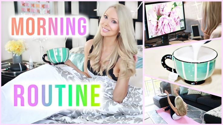 My Morning Routine // How to Be a Morning Person