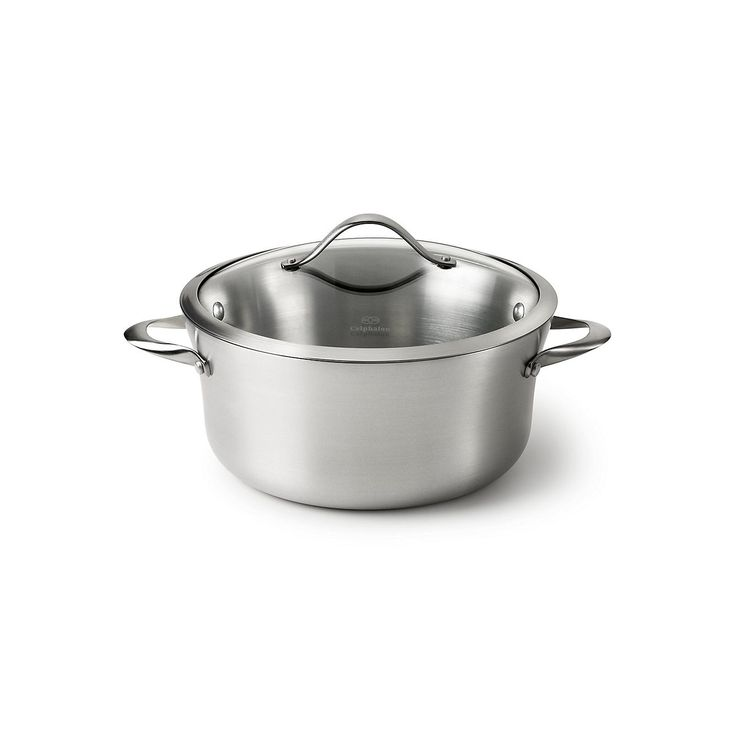 Calphalon Contemporary Stainless 6.5-qt. Covered Stainless Steel Stockpot, Silver