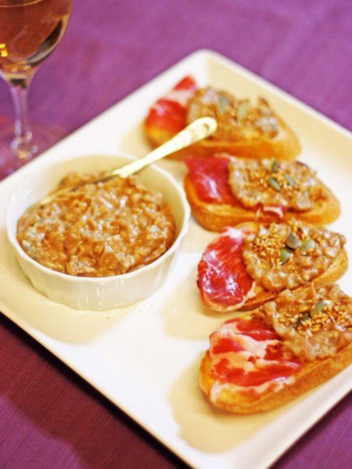 栗にゴルゴンゾーラを合わせて、ほどよい塩味のペーストに。ワインのおつまみにぴったり|『ELLE a table』はおしゃれで簡単なレシピが満載!