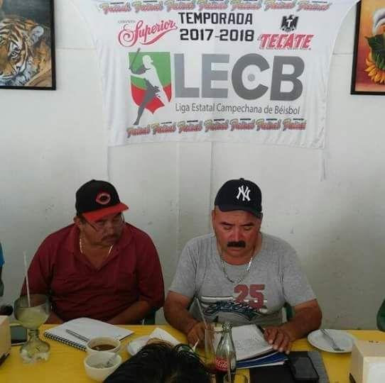 * QUINTA REUNION DE LA LIGA ESTATAL CAMPECHANA DE BEISBOL PREVIO AL ARRANQUE DE LA TEMPORADA 2017-2018.     San Francisco de Campeche, Camp...