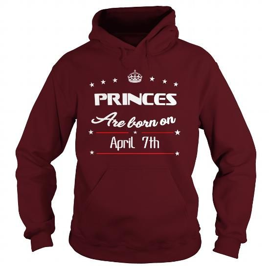 Make this funny birthday in month gift saying  PrincesApril 7th BORN BIRTHDAY SHIRTSApril 7th   Hoodie Shirt VNeck Shirt Sweat  love Princes April 7th  April 7thtshirts  as a great for you or someone who born in April Tee Shirts T-Shirts Legging Mug Hat Zodiac birth gift