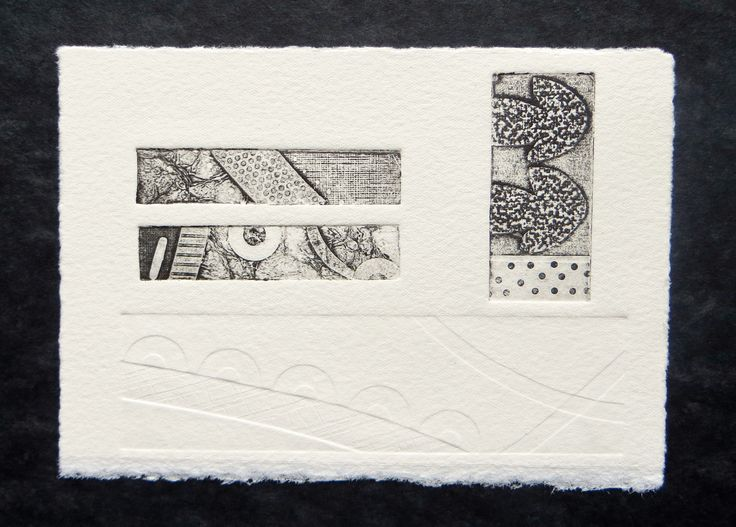 Collagraph Print - by Annwyn Dean 2014