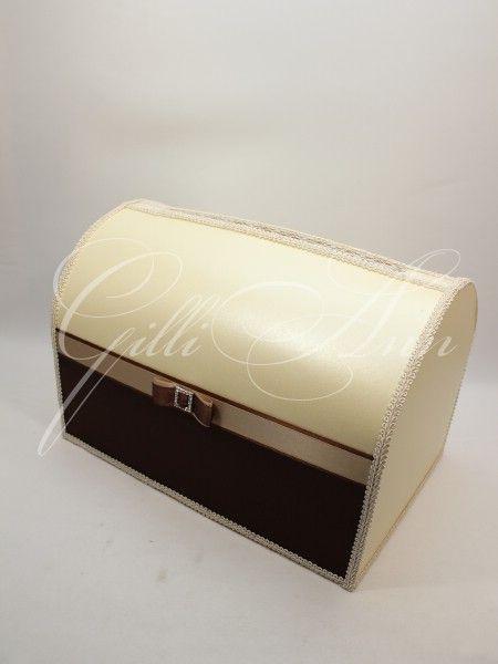 Сундук для денег на свадьбу Gilliann Chocco Beauty BOX056, http://www.wedstyle.su/katalog/anniversaries/wedding-box-money, #wedstyle, #свадебныеаксессуары, #сундучокдляденег, #свадебныйсундучок, #weddingbox