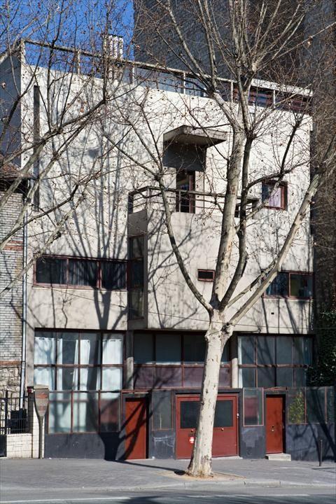 Le Corbusier - Maison Planeix, 1924,Paris