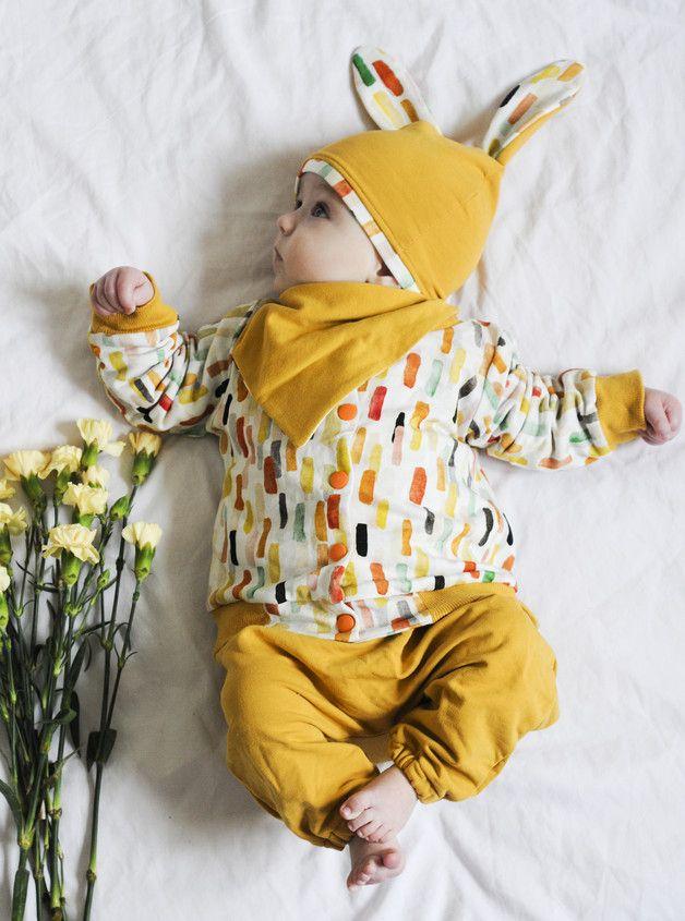 Dwustronna kurtka AKWARELE - HonsiuMisiu - Kurtki dla niemowląt