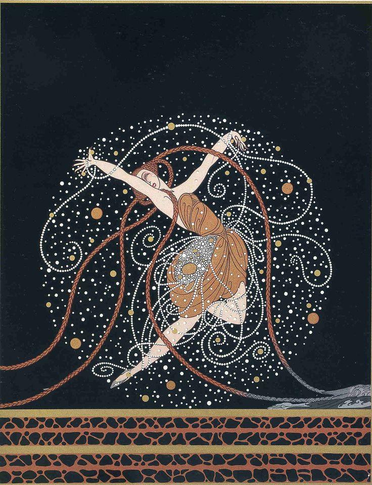 This is one of my favorite Mandalas  ---     Ondee by Romain de Tirtoff