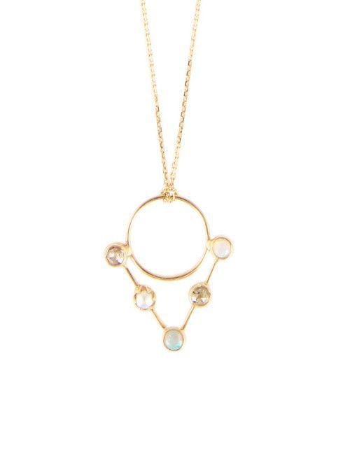 ABÏS / PENDENTIF TRIANGLE OPALE PERLE Disponible sur http://www.bymarie.com/marques/abis.html #abis #bijoux #jewellery #joaillerie #collier #necklace #handmade #gold #boheme #chic #bohemian #fashion #mode #paris #marseille #sainttropez #bymariestore