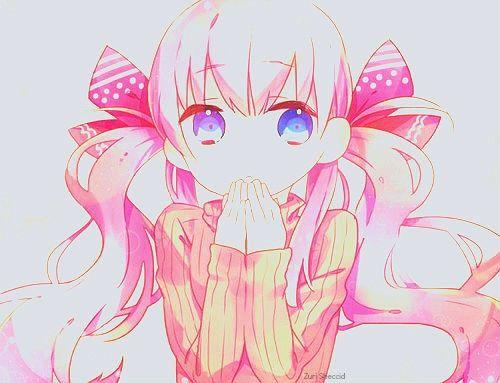 نتیجه تصویری برای the anime chibi girl with blue eyes
