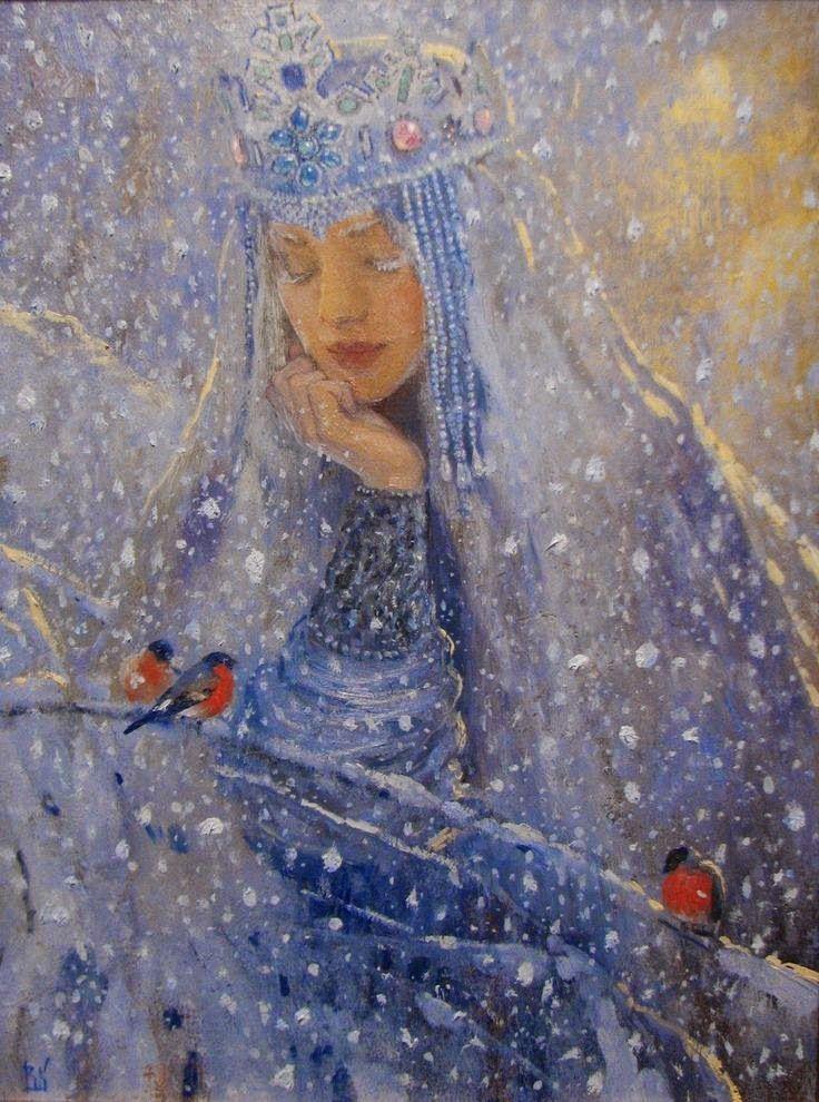 The Winter by Vladimir Kireev