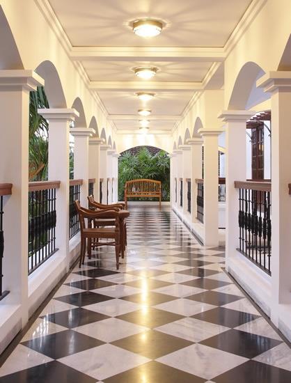 Upper Walkway Villa Batavia