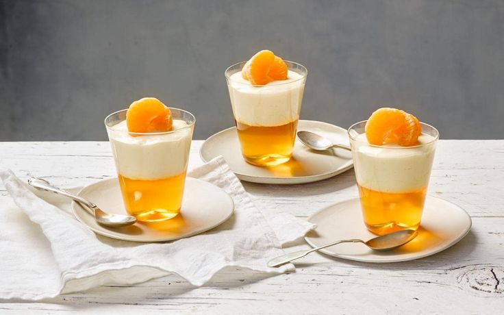 A citrus dessert of orange jelly topped by a rich, dreamy cream cheese is truly a winter cheesecake delight, says chef Lorraine Pascale