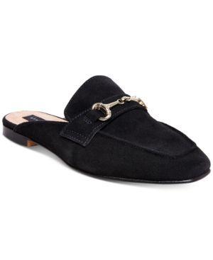 Steven By Steve Madden Women's Razzi Slip-On Loafers - Black 8.5M