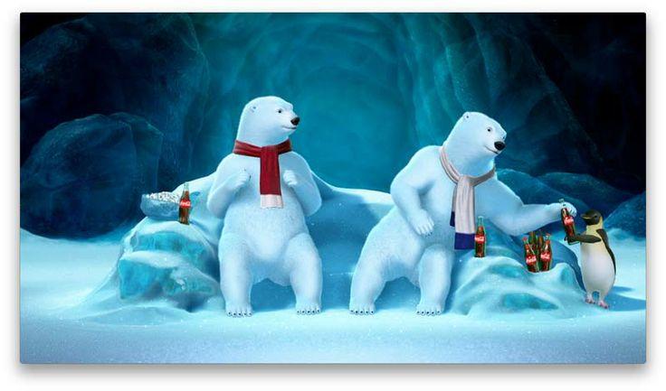 coke cola polar bear wallpaper | coca cola polar bears super bowl facebook | Wallpaper Lovers
