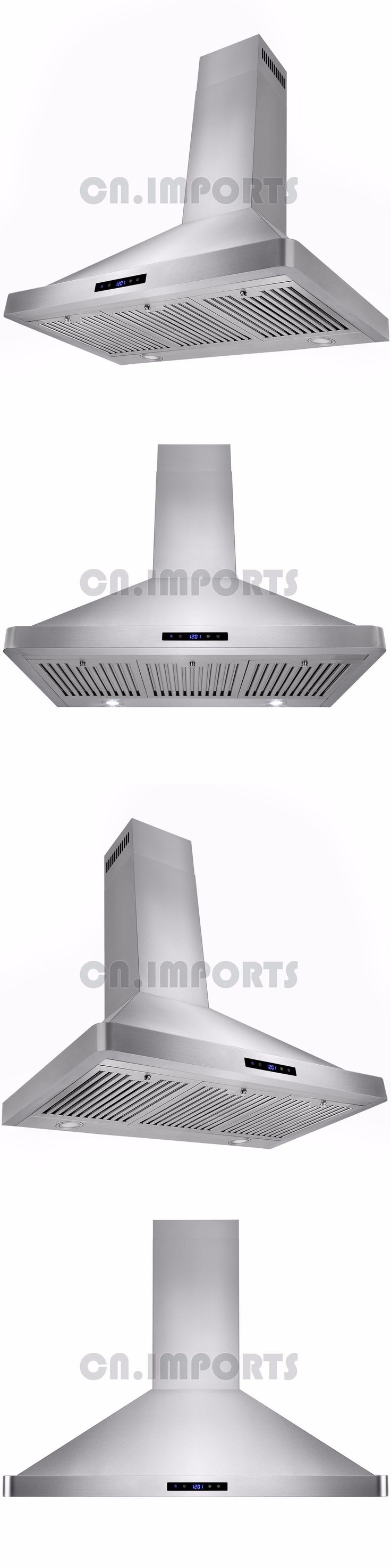 Range Hoods 71253: 36 Stainless Steel Kitchen Powerful Wall Mount Range Hood Vent Touch Control -> BUY IT NOW ONLY: $159.99 on eBay!