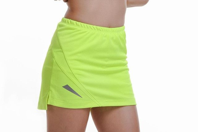 New Tennis Skorts Fitness Short Skirt Badminton breathable Quick drying Women Sport Girls Ping pong table Tennis Skirts WD5
