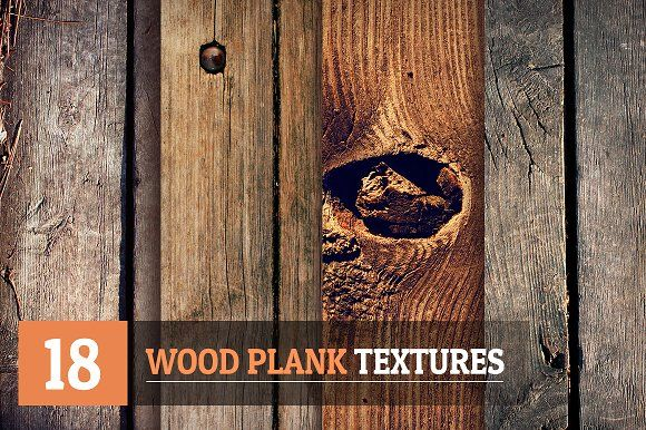 18 Wood Plank Textures by Arts 'n Coffee on @creativemarket
