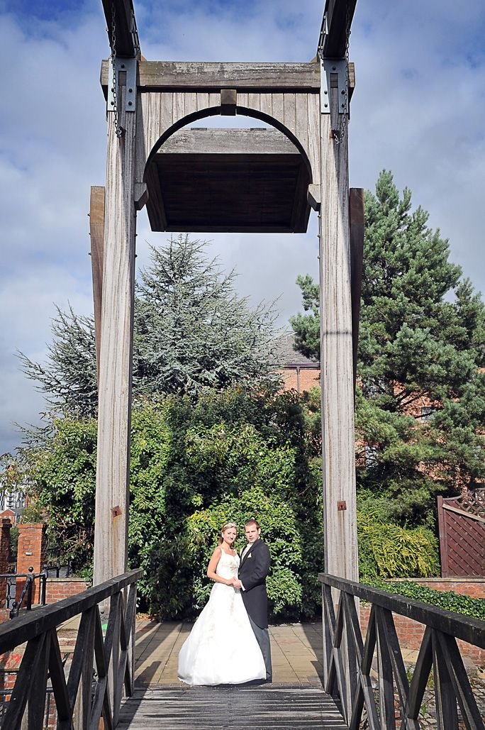 A historic feel runs through the hotel to celebrate our heritage! It also is apparent outside, which make the perfect back drop to your big day!