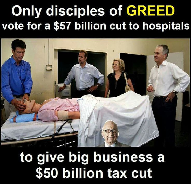 Greed in Australian politics, this is the face of real terrorism. Whiles the sheep divert from this with their racist Muslim Hansen love afair.