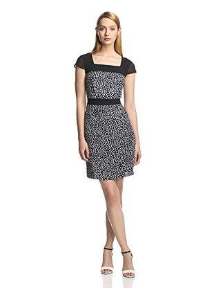 55% OFF DSdress Women's Cap Sleeve Dress (Black)