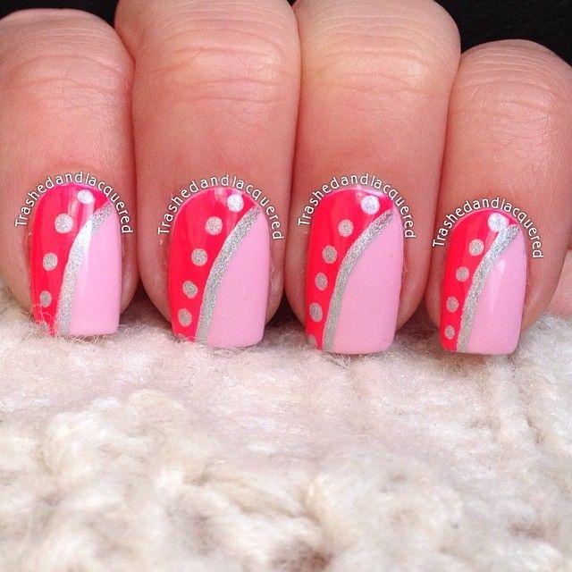 25+ Best Ideas About Dark Pink Nails On Pinterest