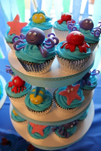 13 best Cakes OceanSea Creatures images on Pinterest Ocean
