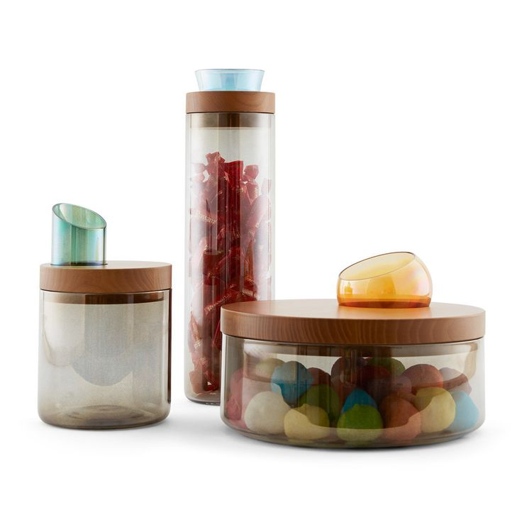 Glass Containers With Lids For Food Storage New 9 Best Oasi  Glass Containers With Wooden Lid Images On Pinterest Inspiration