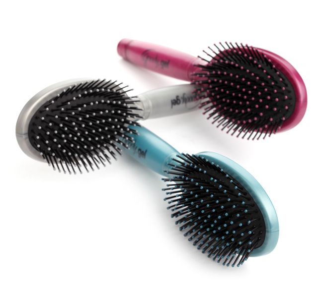 Gelous Grip Cushion Brush - Frizz-Free Styling with a Comfort Gel Grip  #GotItFreeFromSecret