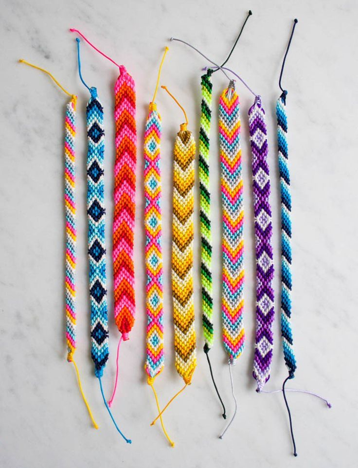 Friendship bracelet inspiration!