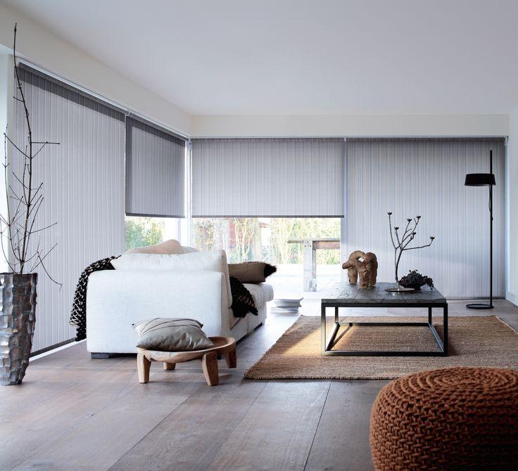 """INSPIRATION / DECORATION : Opter pour des stores ou panneaux japonais semi opaque. Alternative : Pour une ambiance """"loft à NY"""", choisir des stores à lamelle."""