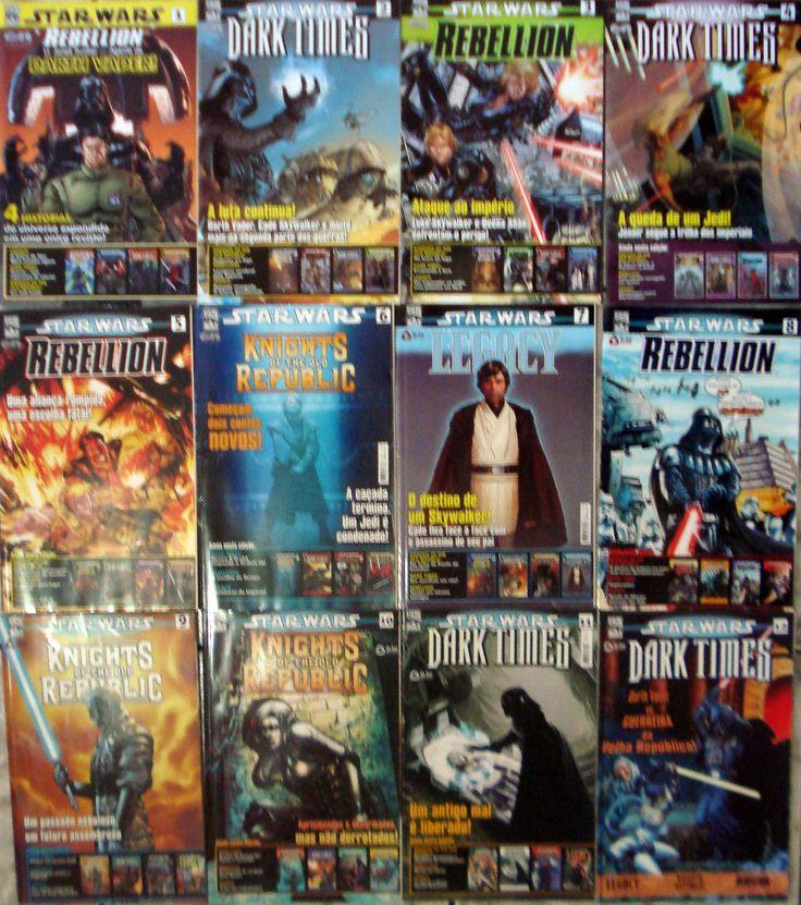 Verita's Sound And Vision: Coleção Revistas Star Wars Da On Line ( 1 Ao 22 )