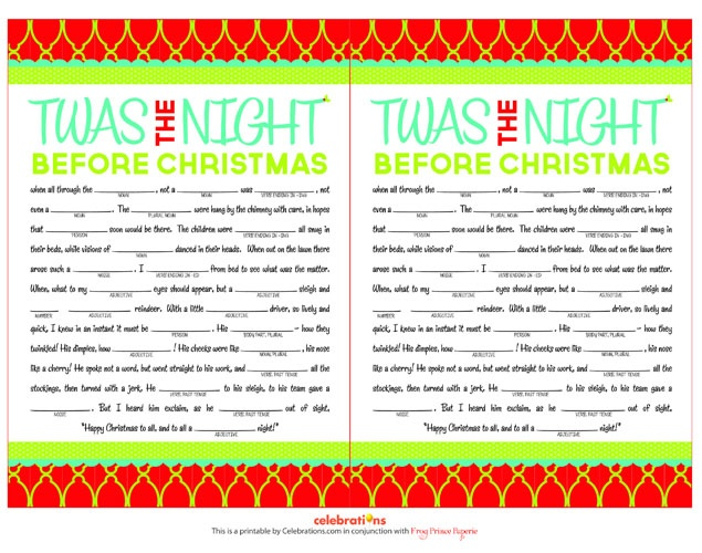 online shopping in uae T  39 was the Night Before Christmas     Are you sure you know how the popular story goes  Positive  Test your knowledge of this famous Christmas poem with our first Christmas party game  See if you can fill in the blanks without having to peek at the answers     Alternatively  have your party guests get creative and come up with their own version of the story  Dish out prizes for most creative  funniest and most festive