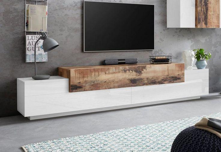 Tecnos Lowboard Coro Breite 240 Cm 3 Klappen Online Kaufen Otto Lowboard Wohnzimmer Design Tv Mobel