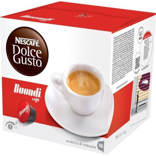 Nescafe Dolce Gusto - Buondi Espresso - Gourmet Portuguese Coffee - 10 Caps