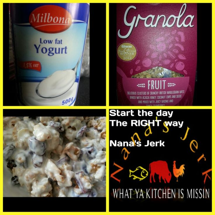 Great start to the day.  Healthy living.  Have a blessed day. NJ ♥
