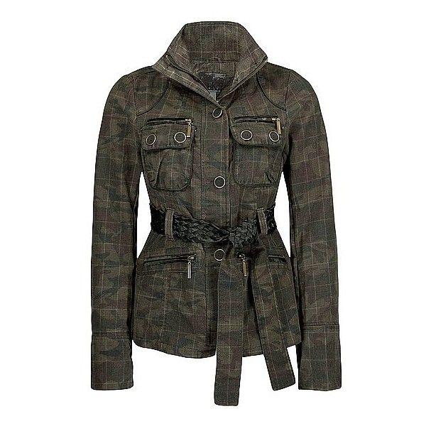 BKE Camo Print Jacket ($44) ❤ liked on Polyvore featuring outerwear, jackets, coats, tops, coats & jackets, camo, zipper jacket, bke jacket, camo print jacket и camo jackets